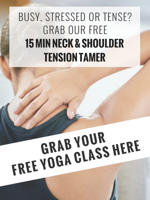 yoga for tight shoulders the online yoga studio