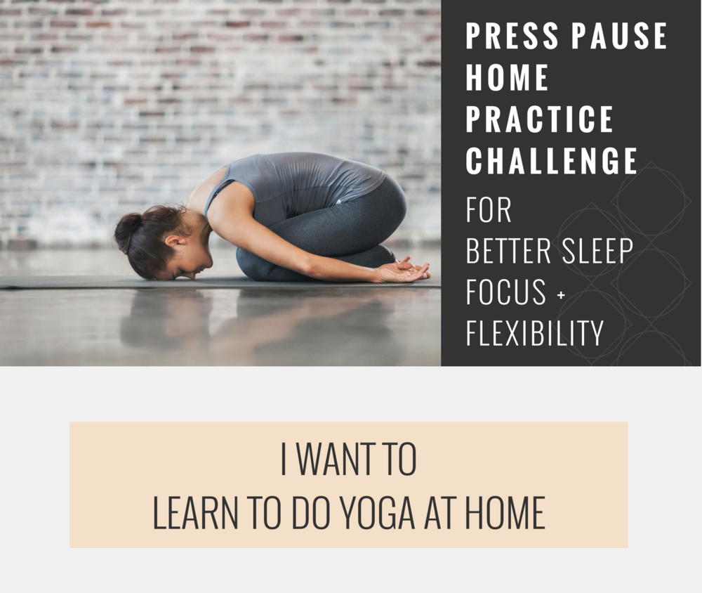 learn to do yoga at home