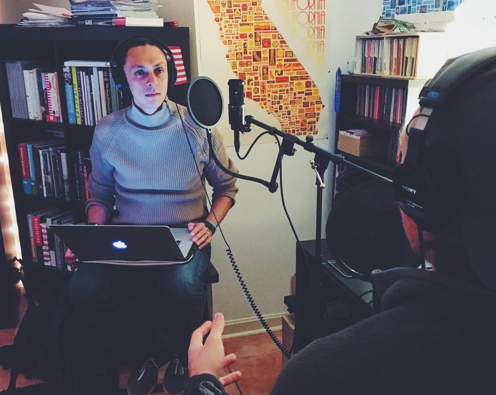 Interviewing Jose from Ecuador
