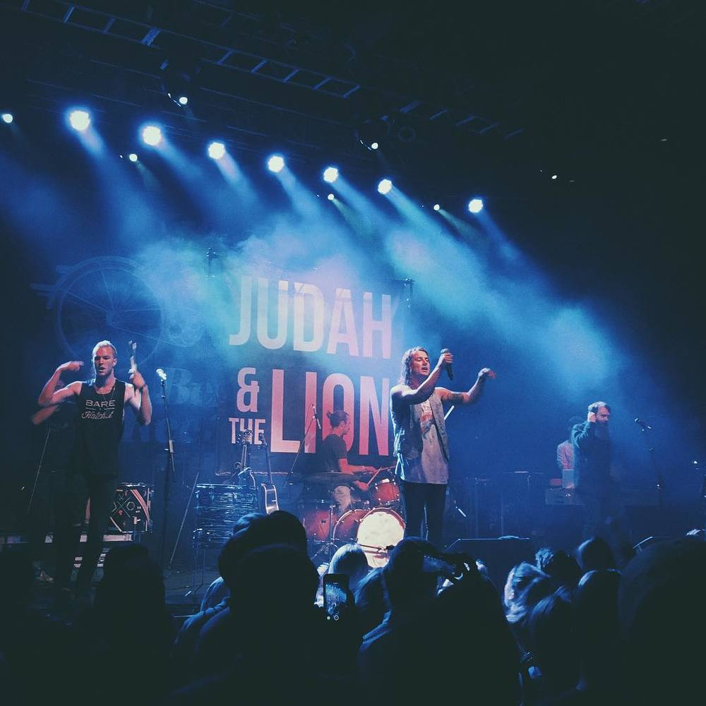Judah & the Lion playing the Fillmore Silver Spring, Fall 2015 ( Instagram )