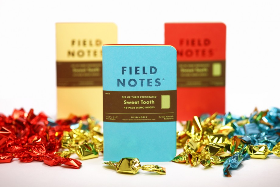 Field Notes Spring 2016 COLORS Edition: Sweet Tooth (Website)