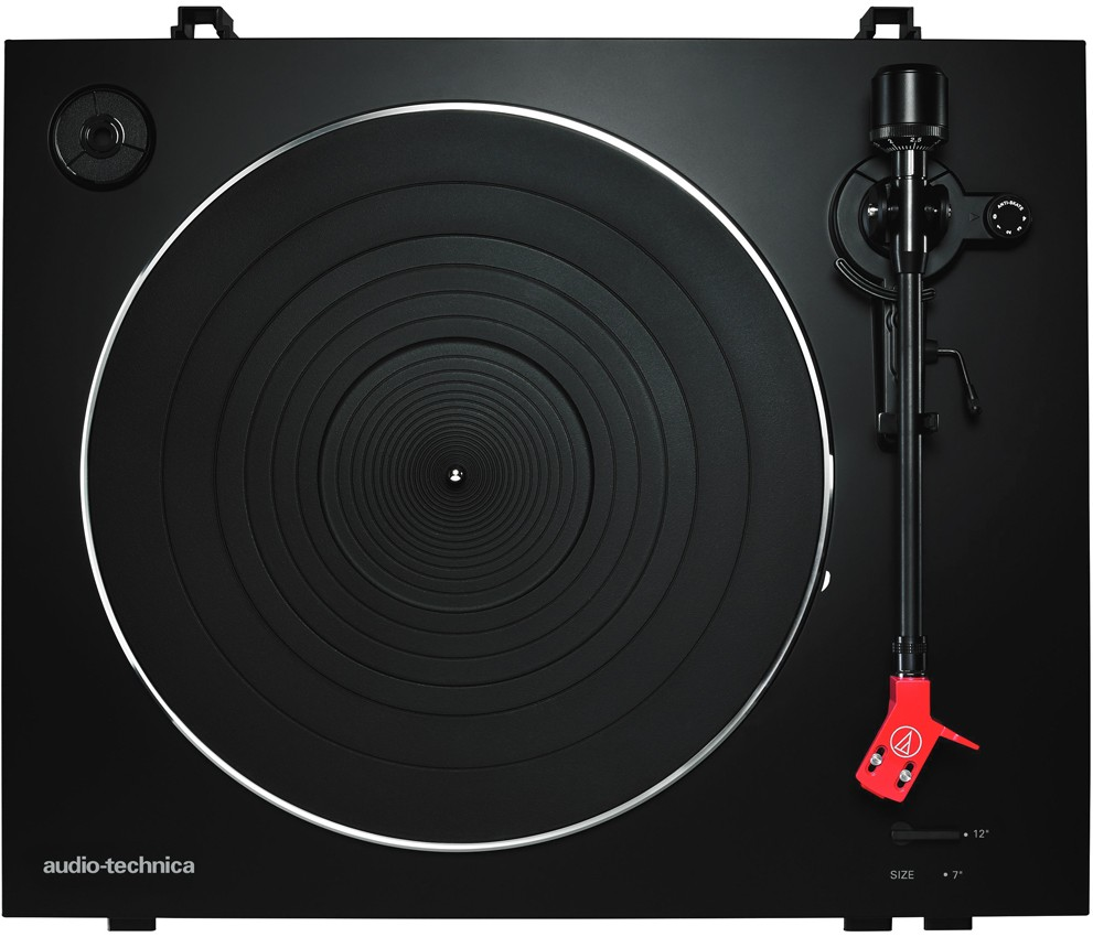 Above: The AT-LP3 Vinyl Record Player