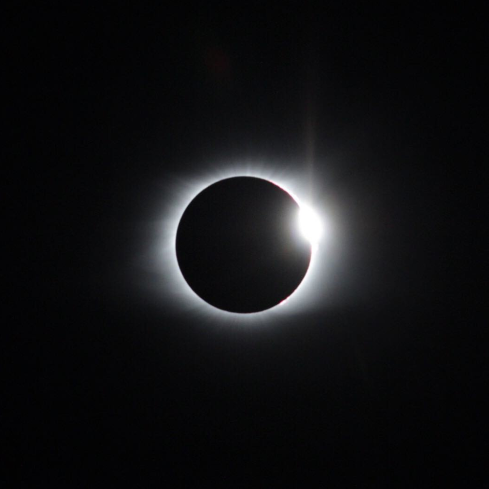 One of Karl's shots from the eclipse on 8/21/17 (Instagram)