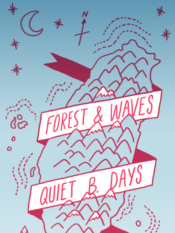 探索山與海洋同與不同的風景 | Q.B.Days