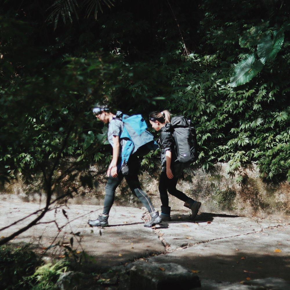 員旅聖母山莊步道  photo | Q.B.Days