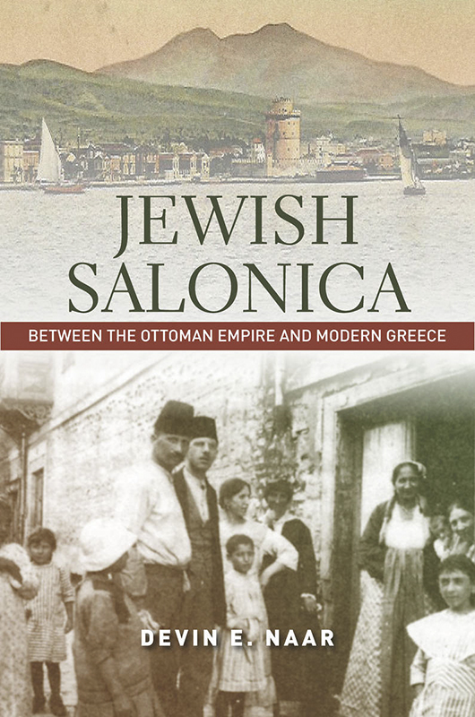 """A vital contribution to Sephardic history, Devin Naar's book lovingly but objectively fills in the Greek Jewish story   of the interwar period. Jewish Salonica speaks through the words of its subjects, drawing on a dazzling array of local Jewish sources and casting this understudied period in a wholly new and dynamic light.""  —Katherine Fleming, New York University, author of Greece: A Jewish History"