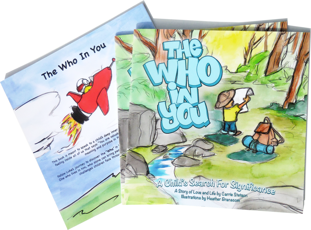 The Who in You. Children's Book. Graphic Design, Layout and Print Management.