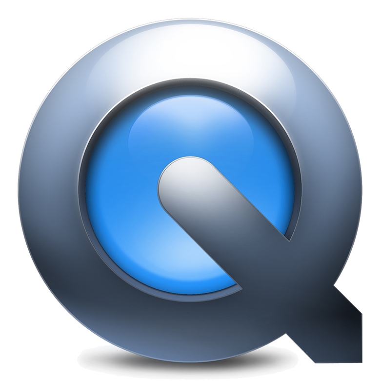 Quicktime Logo study with Adobe Photoshop