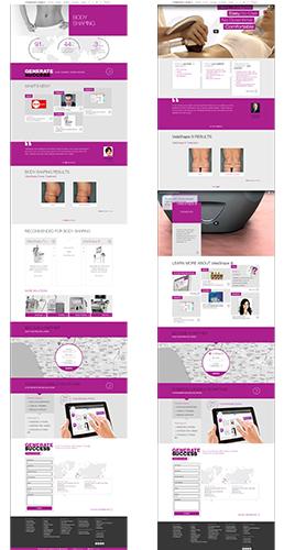 Web UX UI design