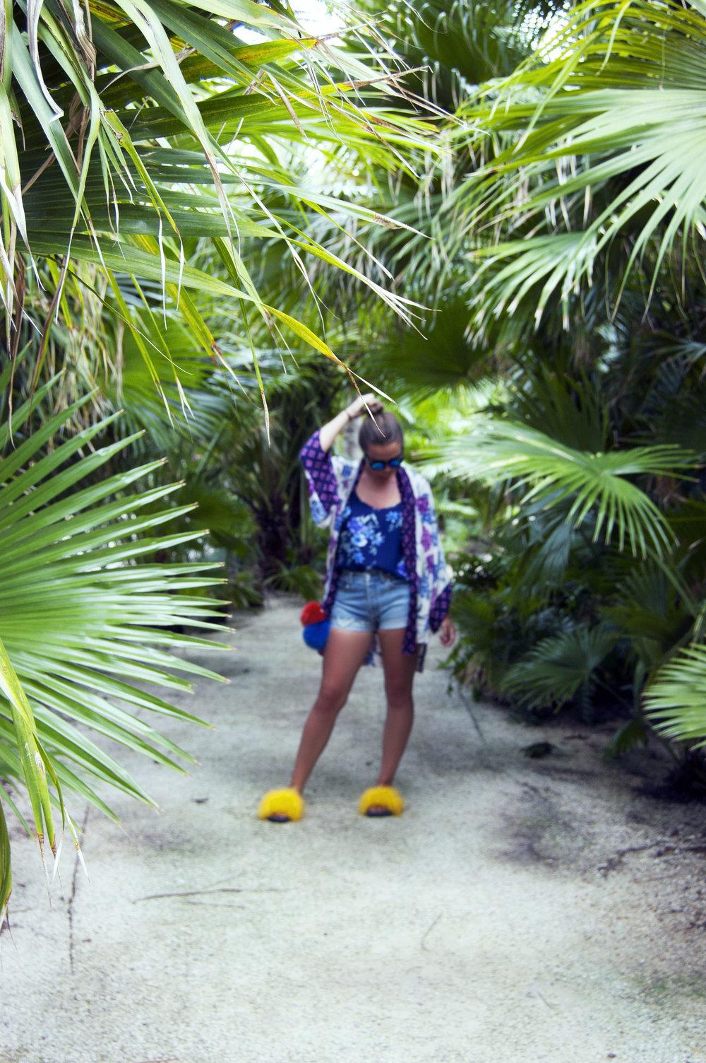 Palms and fashion