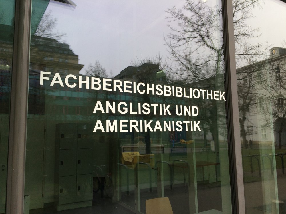 Faculty Library at University of Vienna, Institute fur Anglistik und Amerikaistik