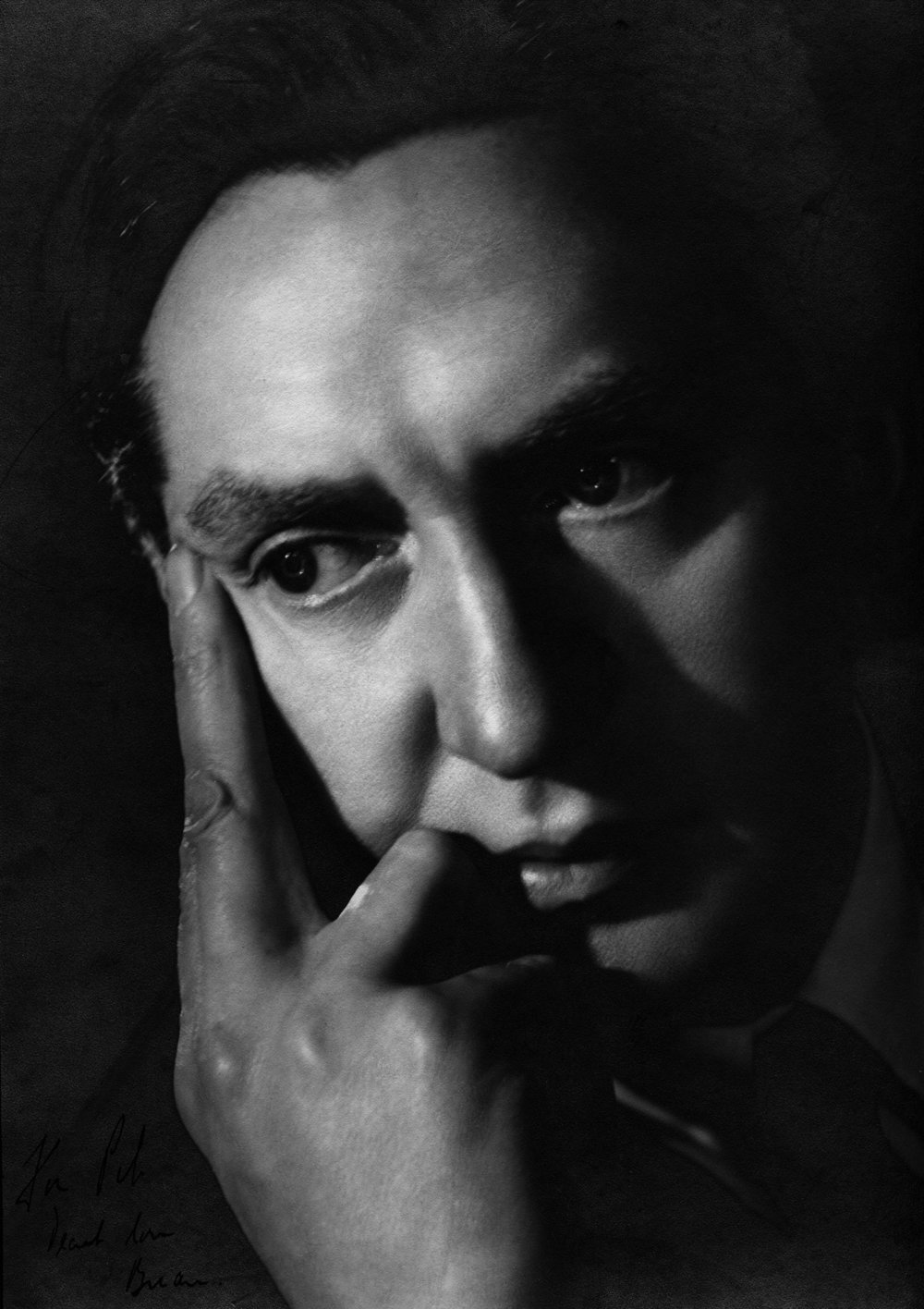 Hurst Photo Portrait. Angus McBean. Copyright Harvard University.