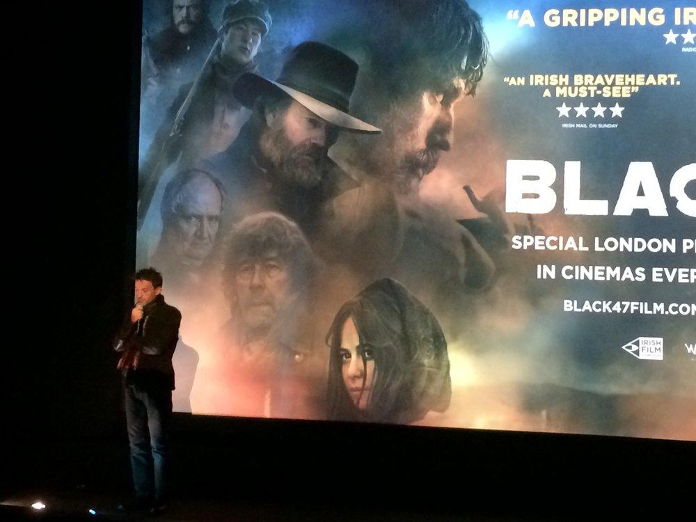 Black '47   London Premiere, Odeon Covent Garden. Lance Daly Intros. Photo: Lance Pettitt