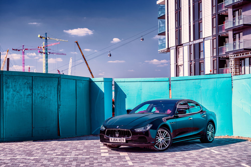 Maserati Ghibli - Canary Wharf