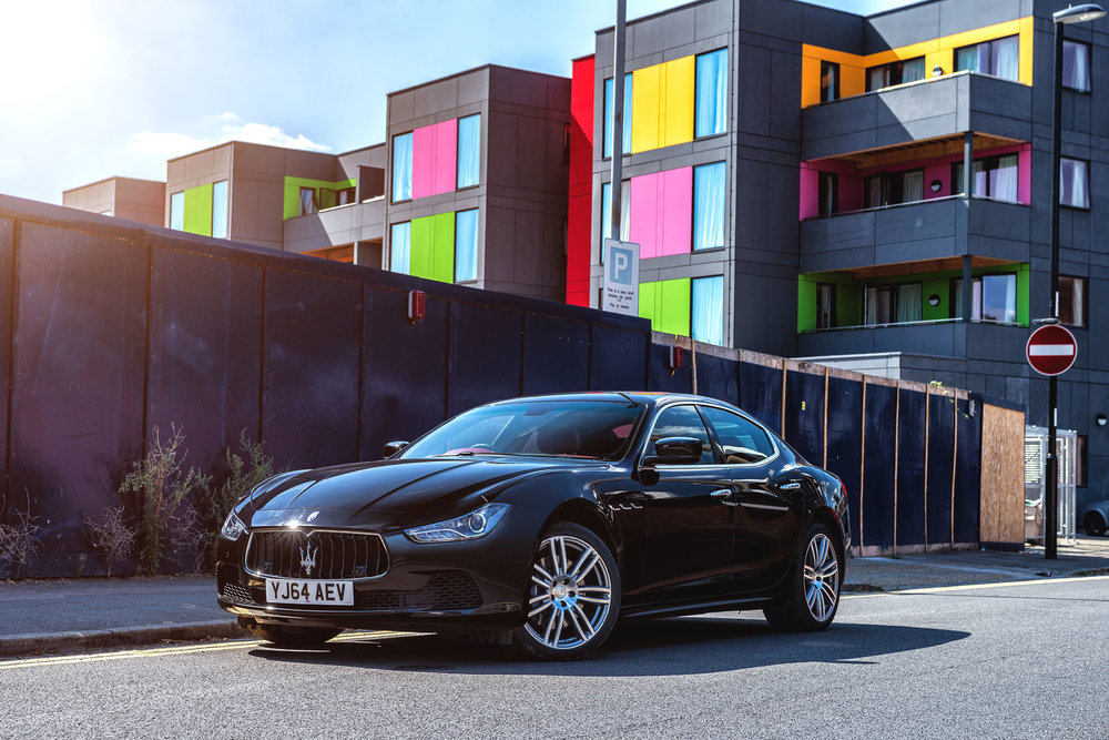 Maserati Ghibli Urban London