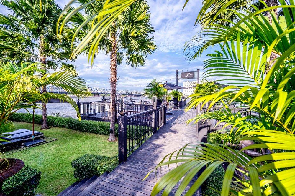 The Siam hotel private pier