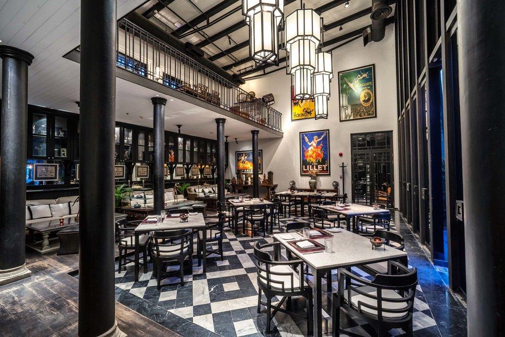 Jazz inspired Deco Bar & Bistro
