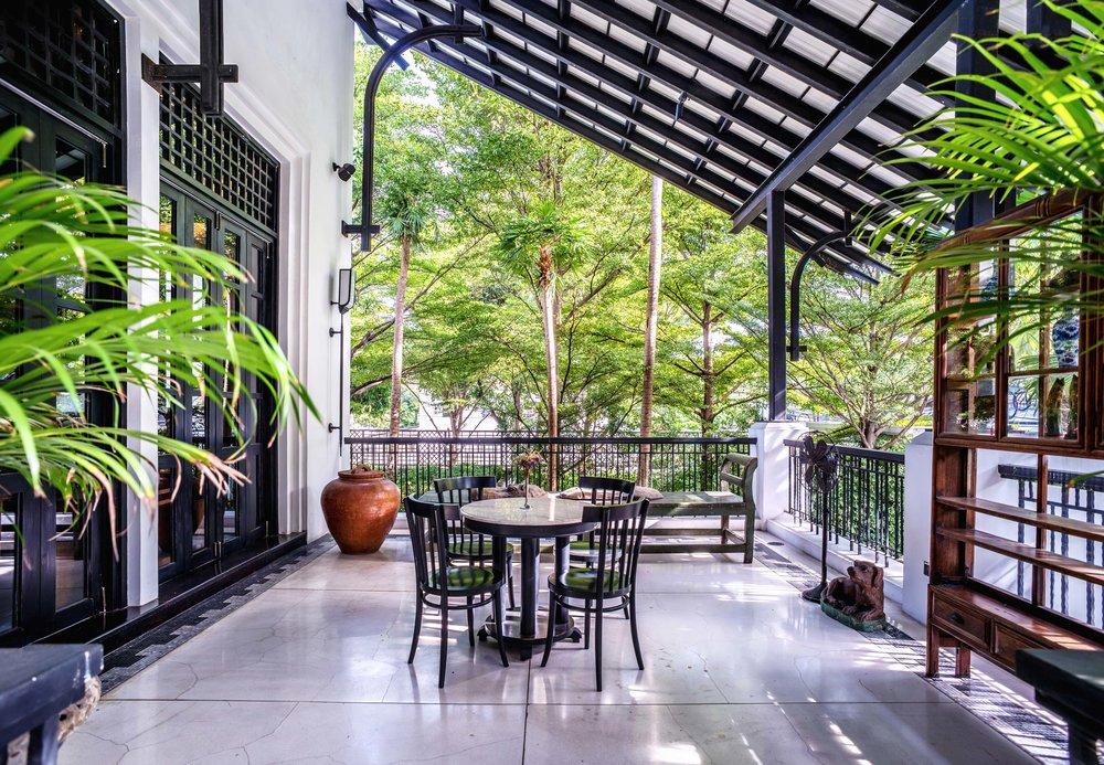 Café Cha terrace