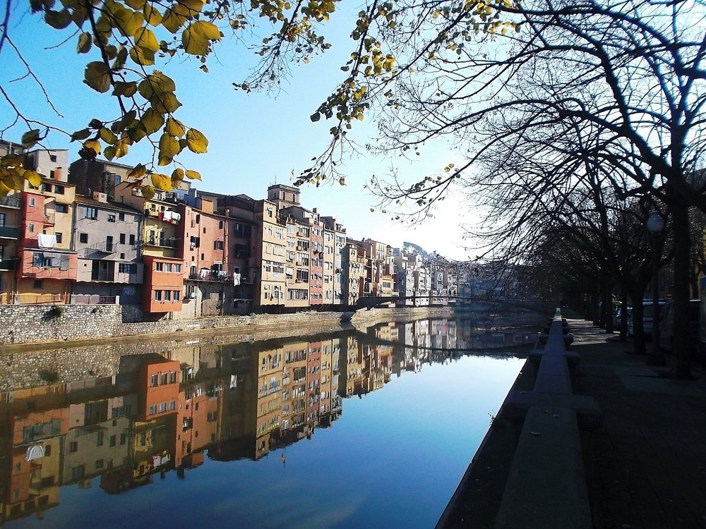 The city/town of Girona are just short drive away.