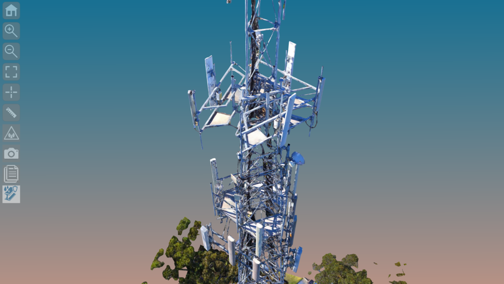 Digitally inspect, analyse & interact with your towers