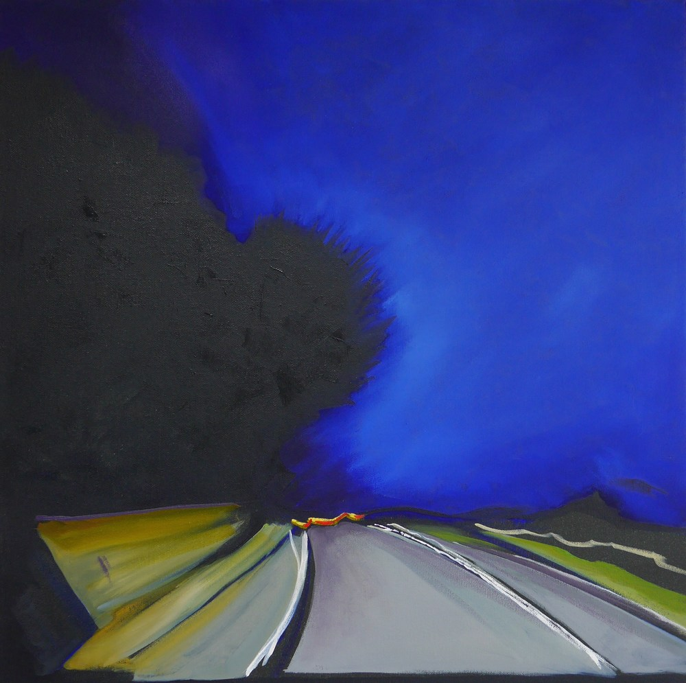 JOURNEY HOME | OIL ON CANVAS AND BOARD