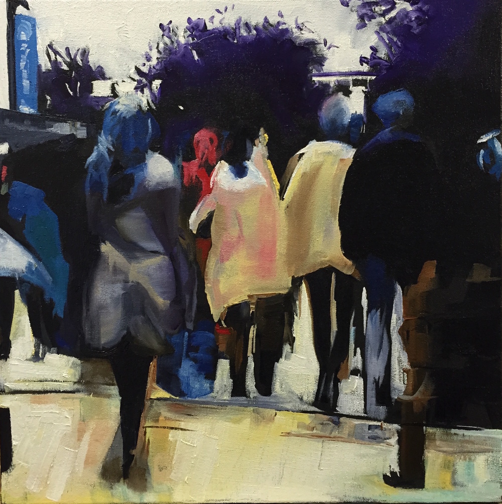PROCESS PEOPLE | OIL ON CANVAS (SOLD)