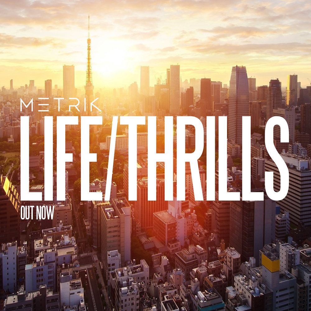 LIFE/THRILLS is out now from all good stores courtesy of Hospital Records