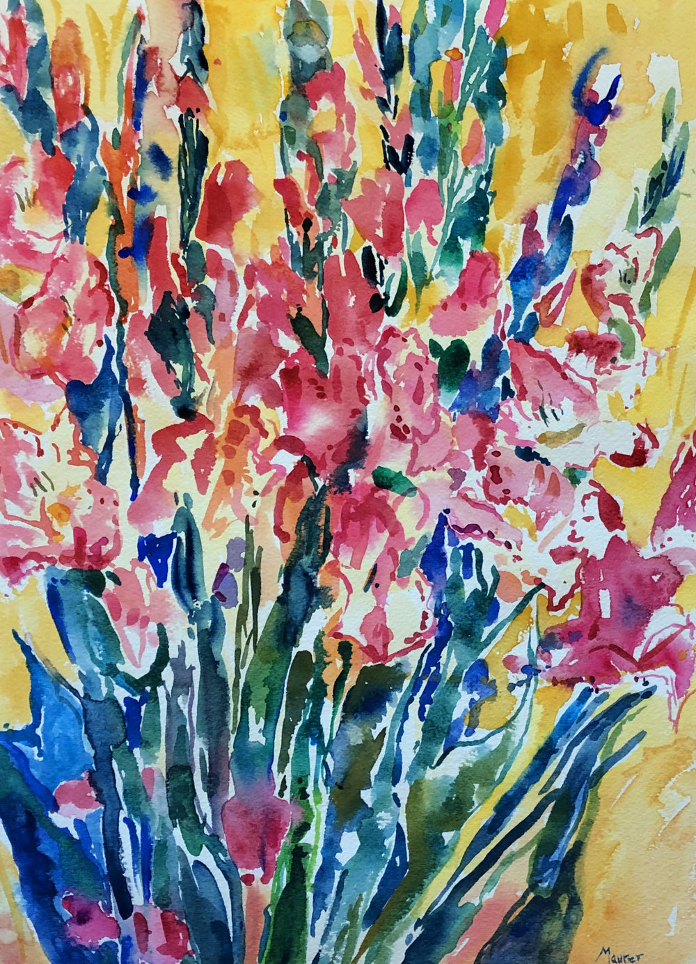 Celebration of Gladiolas-14x10in-watercolor.jpg