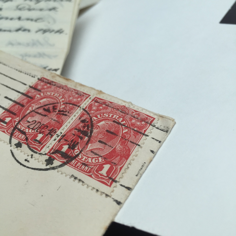 Australian Stamps 1916