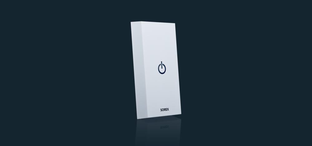 SOREX Zutrittsleser mit Wandmontage mit RFID, Bluetooth und aktive Handsender