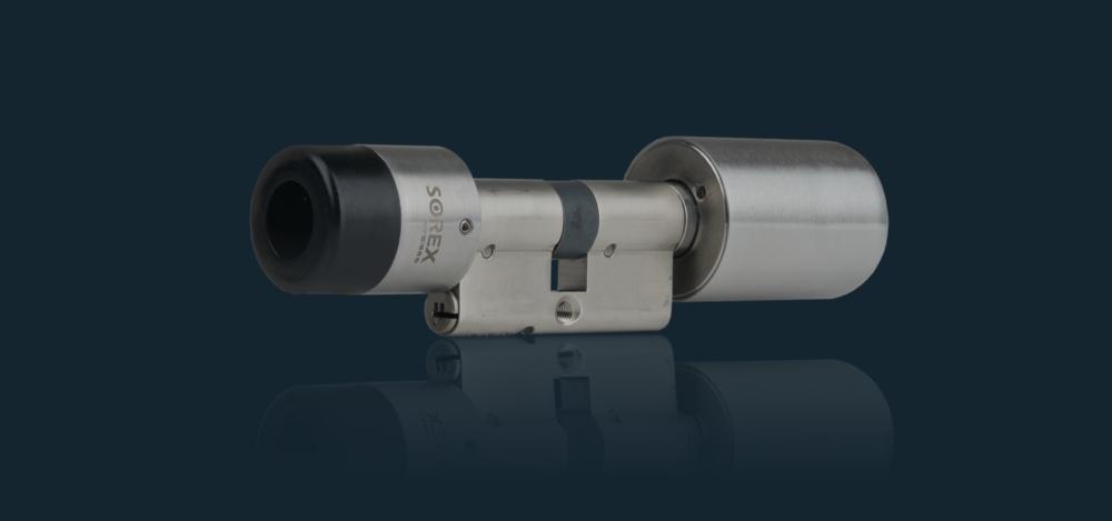 SOREX Digitalzylinder SMART mit mechanischem Notschlüssel