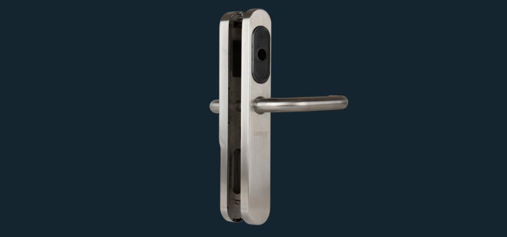 SOREX Türbeschlag SMART für Hoteltüren und Bürotüren