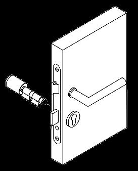 Abbildung 1: Den Zylinder einsetzen