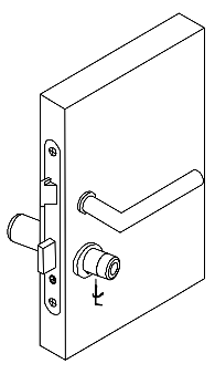 Figure 3: Ataching the knob