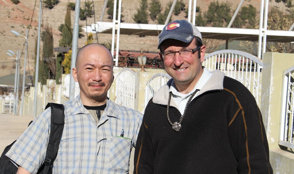 HASF Mission Team Leader James Price and Grady Pickett