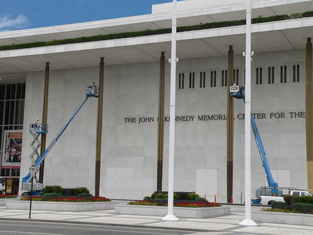 The John F. Kennedy Memorial Center for the Performing Arts<a href=/our-company>→</a><strong>Working on multiple IDIQ's at the center</strong>