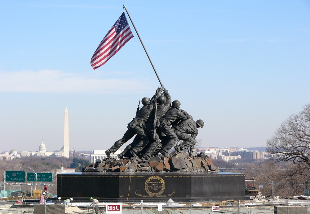 National Marine Corps Memorial - Iwo Jima