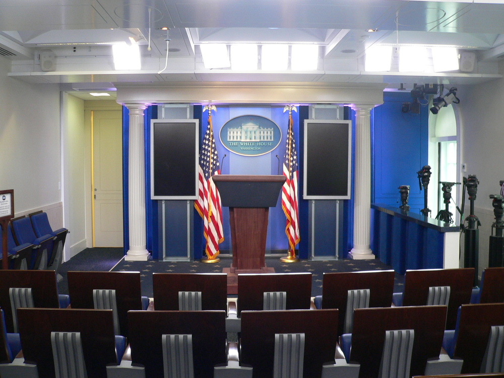 West Wing Pressroom<a href=/west-wing>→</a><strong>Renovation of the Press Areas of the West Wing</strong>