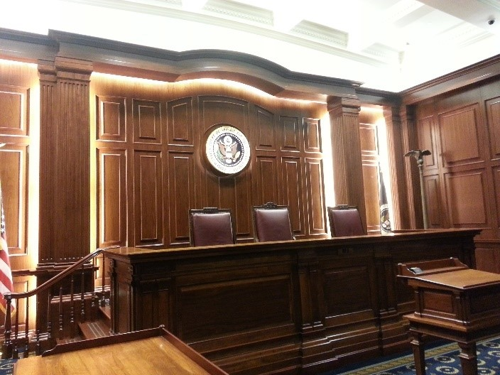 US Federal Court of Appeals - Renovations to Courtrooms 203 & 201
