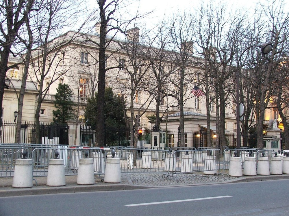 US Consulate in paris