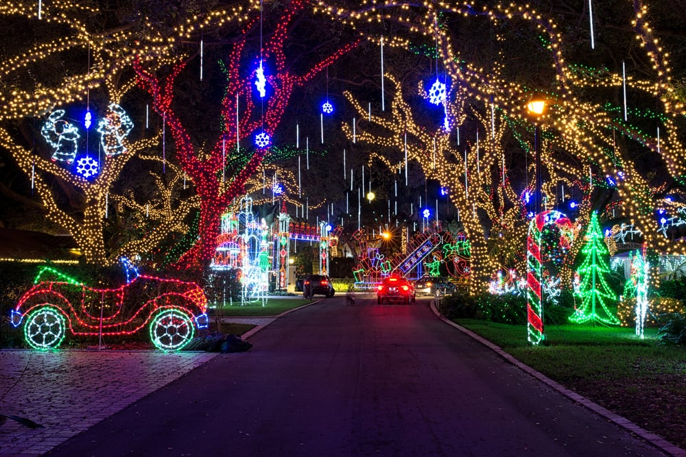 Snug Harbor Light Display
