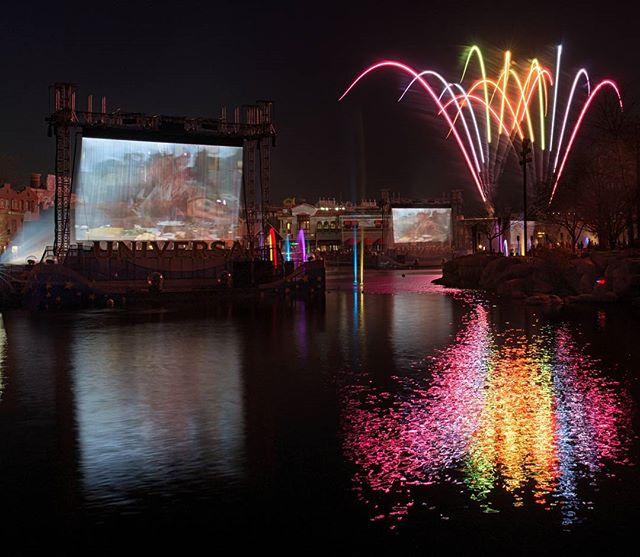 Fireworks from @universalorlando #universalorlando #universalmoments #igers_orlando