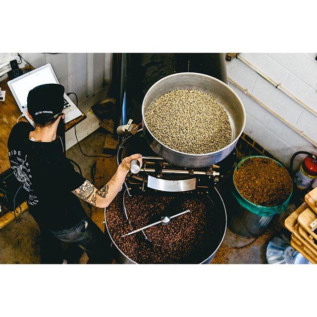 Aw yeeeeaaaahhhh, I guess I've always been into making coffee beans brown aye,