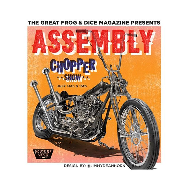 Getting super excited for this years @assembly.london chopper show at the @houseofvansldn. Make sure you give them a follow so you don't miss this years show.