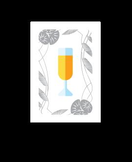 CARTE COUPE DE CHAMPAGNE :  S'il s'agit d'une carte Coupe de champagne : il ne se passe rien.