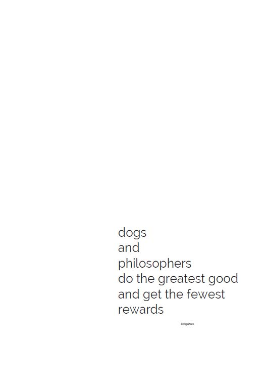 dogs and philosophers