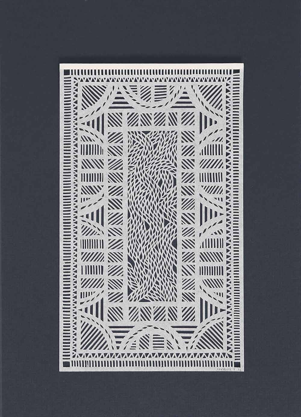Untitled White Geometrical