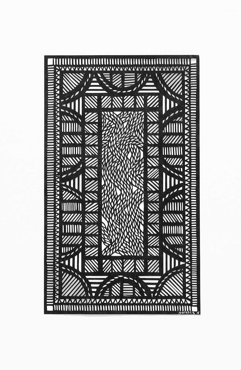 Untitled Black Geometrical