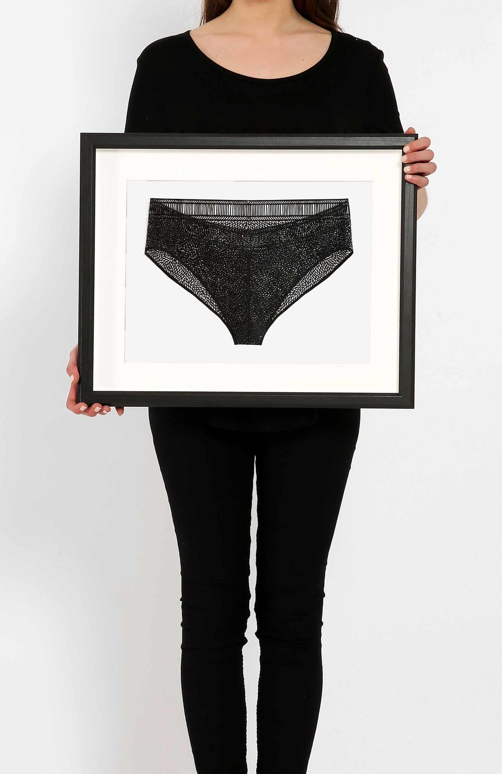Underwear Black Medium_Framed.jpg