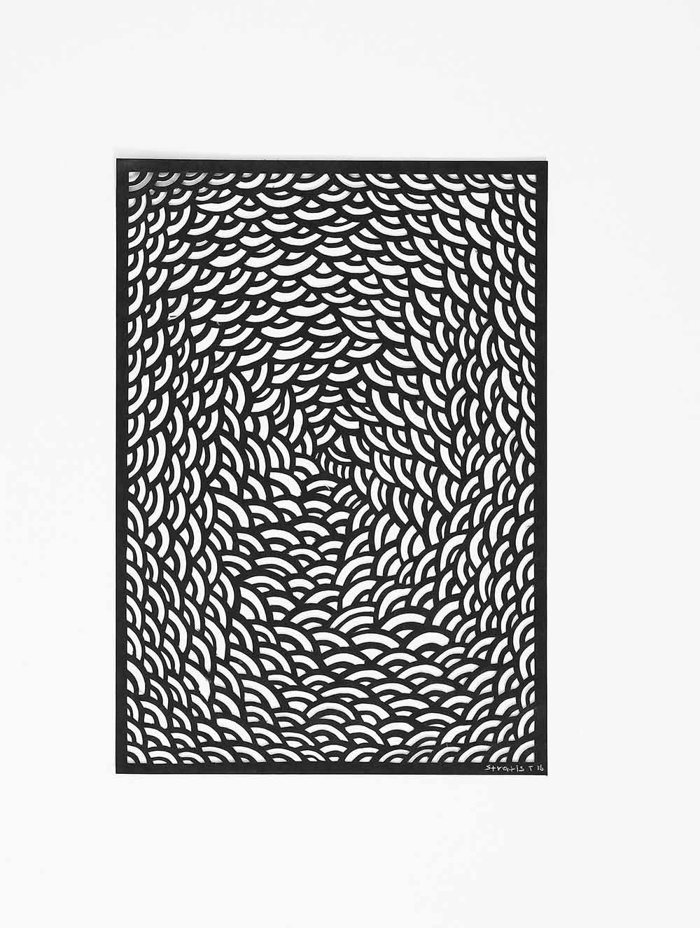 Untitled Black Arcs